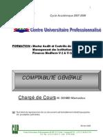 Cours de comptabilité générale (CUP)