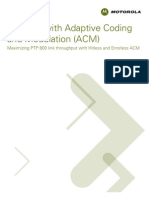 Adaptative Code Modulation