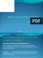 A Managerial Economics Induction Newnew