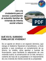 presentación para personas no desplazadas