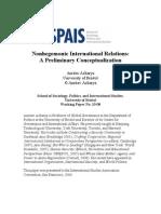 Nonhegemonic International Relations