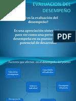 MÉTODOS TRADICIONALES DE EVALUACIÓN DEL DESEMPEÑO
