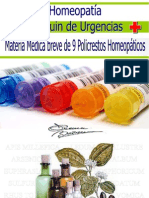 Botiquin de Urgencias HOMEOPATICO