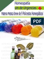 Botiquin de Urgencias HOMEOPATICO
