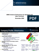 MIMO Antenna Performance for Handsets and Data Terminals[1]