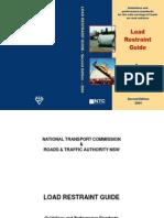 Load Restraint Guide 2004 Australia