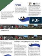 Pass Soccer Brochure 2012