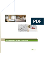 Beijing Hotel Industry Overview