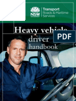 Heavy Vehicle Driver Handbook NSW Australia