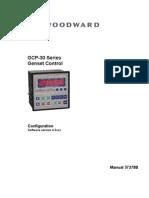 Woodward GCP30 Configuration 37278_B