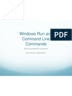 Windows Run and Command Line Commands