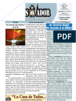 """2012-07-22 """"EL CONQUISTADOR"""" Boletín Semanal de La casa de Todos"""