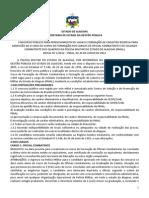 Edital do concurso da Polícia Militar de Alagoas