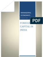 Foreign Capital in India