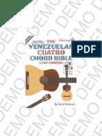 Biblia de acordes del cuatro venezolano