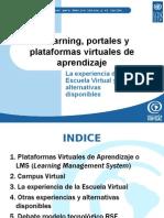 Portales y as Virtuales de Aprendizaje