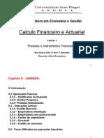 CFA Capitulo 5 Produtos e Instrumentos Financeiros