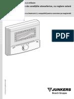 Automatizare Senzor Exterior FW 200 Instalare+Utilizare