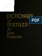 5e4af4762 [1915] Harmuth, Louis - Dictionary of Textiles | Textiles (692 views)