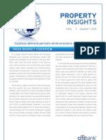 Citibank Property Insights Q1 2012