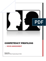 Competency Profiling
