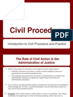 Introduction to Civil Procedure