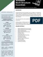 Autodesk Revit Structure Essentials