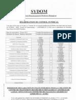 187 délibération Sydom 30 juin 2011