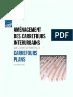 Amenagement Des Carrefours Interurbains