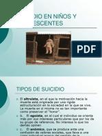 SUICIDIO EN NIÑOS Y ADOLESCENTES