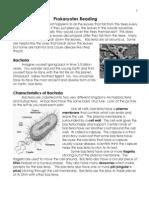 Bacteria Reading