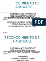Reconocimiento de Hardware