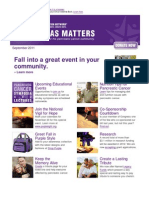 Pancreas Matters September2011