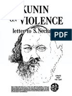 Bakunin on Violence Read