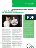 on365 Mid Essex Hospital Services NHS Trust Case Study