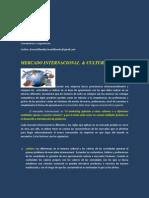 Mercado Internacional&Cultura