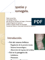 Adenopatias y Esplenomegalia