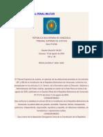 La Justicia Militar en Venezuela