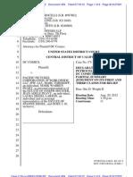 Siegel Shuster Superman Superboy Legal Docs - Petrocelli filing 07-16-12