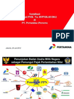 Sosialisasi PMK 85-2012 Tgl 200712