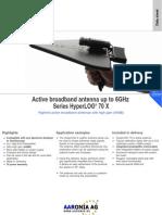 Active Broadband Antenna 70X