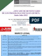 Sistema Ruben 2012