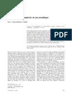Ants. Efectos de La Complejidad Del Habitat en Su Ensamblaje