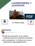luxacion glenohumeral y acromioclavicular