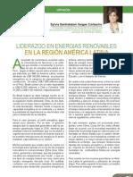Liderazgo en Rec. Renovables en America Latina
