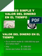 03 - Interes Simple y Valor Del Dinero en El Tiempo