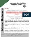 Sheriff Arpaio Obama Birth Cert Investigation Part II - Obama Docs Definitely Bogus - 17 Jul 2012 Press Release