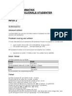 7540772 Norsk Grammatikk for Internasjonale Studenterniv 2
