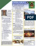 Murugan Temple Newsletter - January, February, March 2009