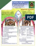Murugan Temple Newsletter - April, May, June 2009
